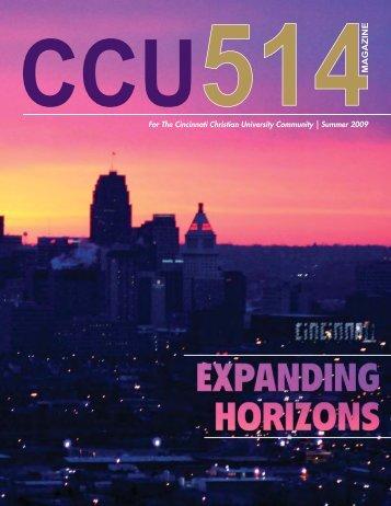 CCU514 Spring09.indd - Cincinnati Christian University