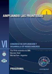 Programa Definitivo - Instituto Argentino del Petroleo y del Gas