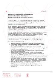 Københavns Madhus søger projektleder og projektmedarbejdere til ...