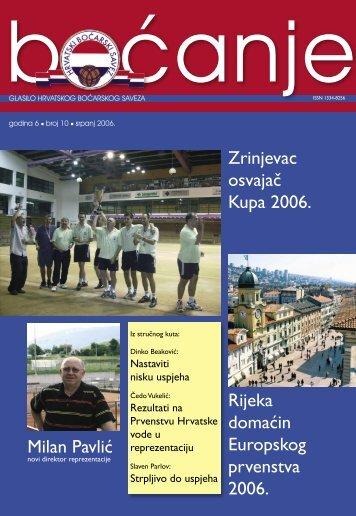 glasilo 10 - Hrvatski boćarski savez