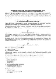 Besondere Rechtsvorschriften (PDF)