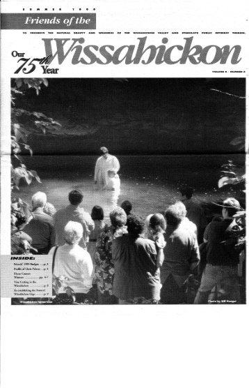 Summer 1999 Newsletter - Friends of the Wissahickon