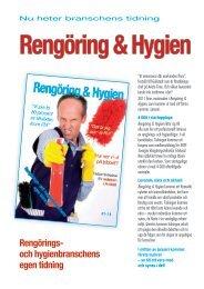 Rengörings- och hygienbranschens egen tidning - SRTF