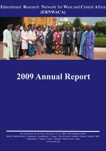 Download the 2009 Annual Report - ERNWACA