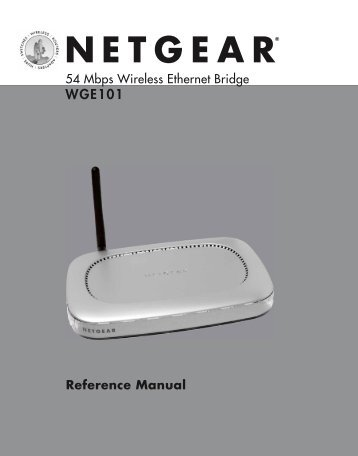 Table of Contents - netgear