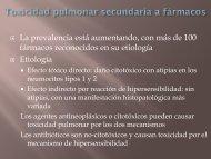 manifestaciones torácicas primarias y efectos secundarios ...