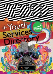 Youth Services Directory - Darwin City Council - Northern Territory ...