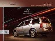 2010 Infiniti QX Luxury SUV Brochure - eCarList