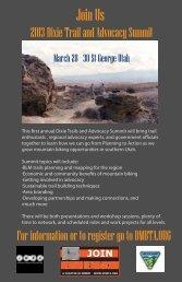 2013Dixietrailsummit_Flyer5 - Cycling Utah