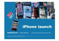 iPhone launch - The PR Report