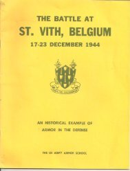 ST. VIT ' BELGIUM - US 7th Armored Division Association