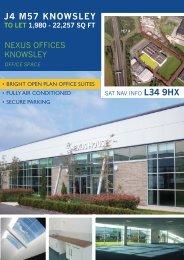 Nexus Offices Brochure 2011 V07.indd - Spencer Commercial ...