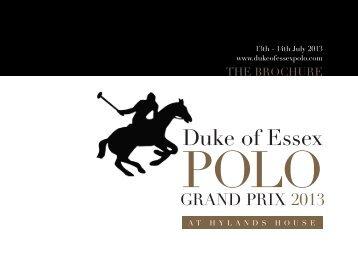 Duke of Essex Polo Grand Prix