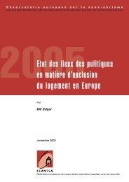 2005Etat des lieux des politiques en matière d ... - noticiaspsh.org