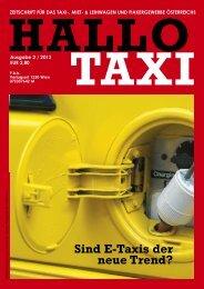 Sind E-Taxis der neue Trend? - bei Taxi 60160