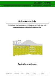 Online-Messtechnik - LuP-Bauweb