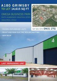 Omega Brochure 2011 V03.indd - Spencer Commercial Property