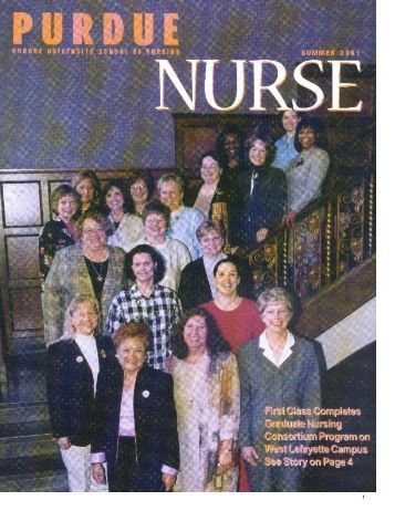 Purdue Nurse - Summer 2001 - School of Nursing - Purdue University