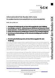 Informationsbrief der Bundes SGK 2/2012 - SGK Hessen