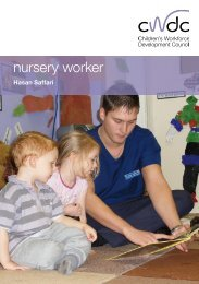 Integrated Working as a Nursery Worker - Bromley Partnerships