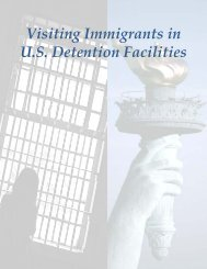Visiting Immigrants in Detention Facilities - Amnesty International USA