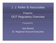 DOT Regulatory Overview
