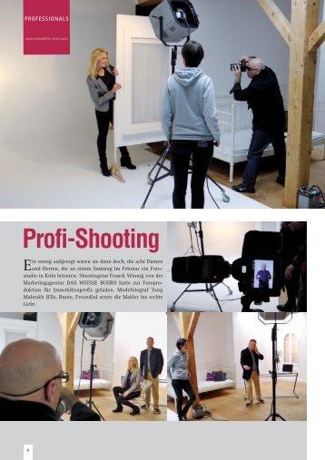 Profi-Shooting - das weisse buero
