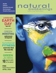 April 2009: Green Economy - Grand Strand Natural Awakenings
