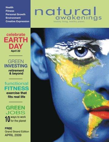 April 2009: Green Economy - Grand Strand Natural Awakenings