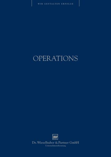 Brosch. Operations