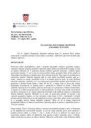 odgovori na vijećnička pitanja - Zadarska županija