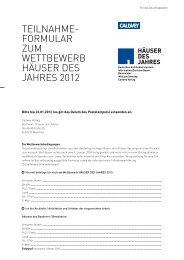 Teilnahmeformular - bauinfo24.at