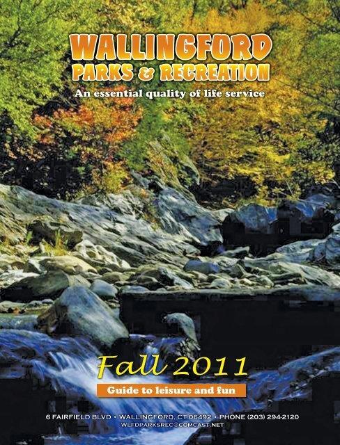 Wallingford Park and Recreation Fall 2011 Brochure.pdf