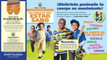 estar sano - Children's Health Fund