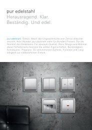 Pur Edelstahl Elektro von Busch-Jaeger .pdf - directbau24