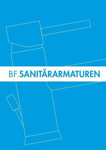 BF SANITÄRARMATUREN - Bergmann & Franz