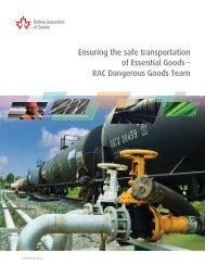 Ensuring the safe transportation of Essential Goods - Railway ...