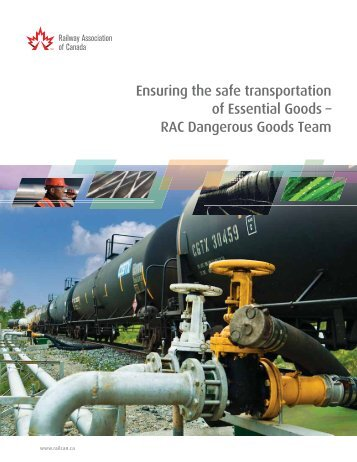 Ensuring the safe transportation of Essential Goods - Railway ...