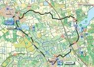 Radroute 4: Knick- u. Redder, Route B - Naturpark Hüttener Berge