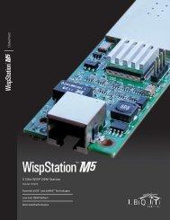 WispStation™M5 | Datasheet - Ubiquiti Networks