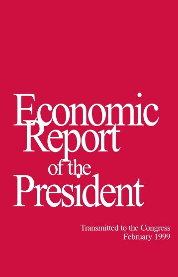 Economic Report of the President - The American Presidency Project