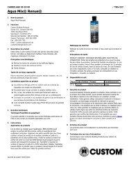 Aqua Mix® Renue® - Custom Building Products