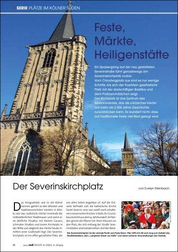 Feste, Märkte, Heiligenstätte: Der Severinskirchplatz - trend4ward.de