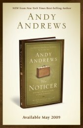 The Noticer Chapter 1 - Andy Andrews
