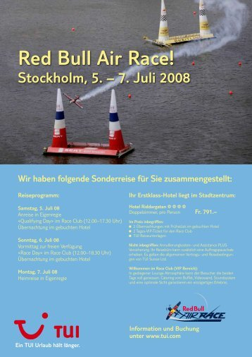 Red Bull Air Race!