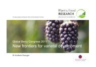 Dr Andrew Granger, Plant & Food Research - Global Berry Congress