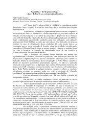 A garantia ao devido processo legal e boa - Justen, Pereira, Oliveira ...