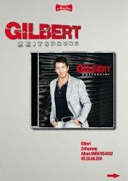 Gilbert Zeitsprung Album 88697854592 VÖ: 03.06.2011 - adlmann ...
