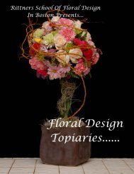 e book Floral Topiaries - Rittners School of Floral Design