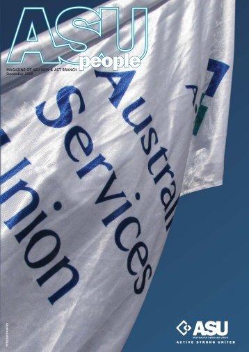 ASU People - ASU NSW